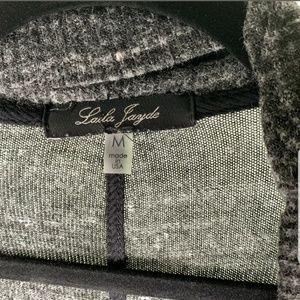 Laila Jayde Sweaters - Laila Jayde Womens Cardigan Size M Gray Open Front